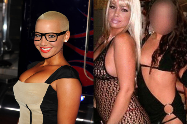 Amber Rose Stripping
