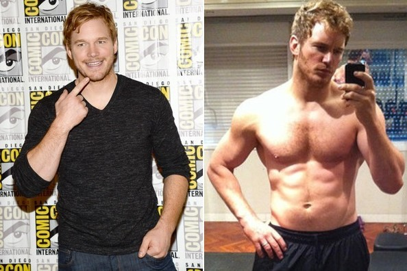 Chris Pratt stripping
